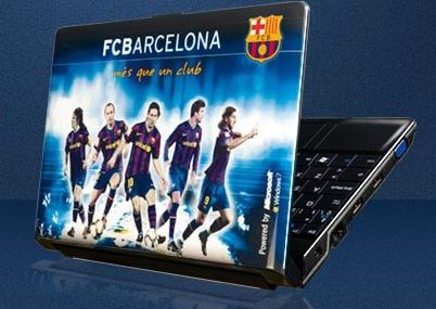 Ultraportátiles del Barça y el Madrid