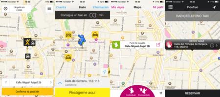 Las mejores apps de taxis de Madrid y Barcelona