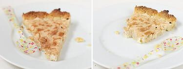 Tarta merengada de almendra, receta rápida y deliciosa