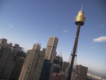 Torre de Sídney, para disfrutar de una panorámica de la ciudad