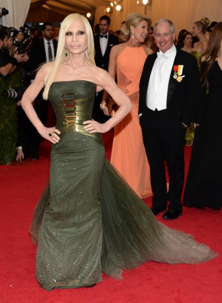 Donatella Versace Gala MET 2014