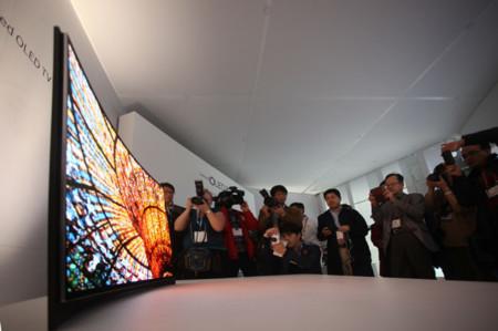 El futuro: televisores curvados