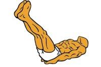 Guía de ejercicios abdominales (XXXII): Elevaciones de piernas extendidas en suelo