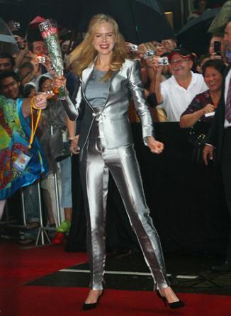¿Qué os parece el look de Nicole Kidman?