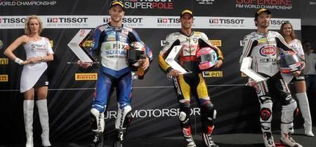 Superbikes Gran Bretaña 2012: Jakub Smrz danza bajo la lluvia. Jules Cluzel domina en Supersport