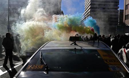 Taxistas En Madrid