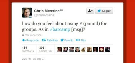 El hashtag, una de las convenciones entre usuarios más populares de Internet