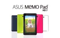 Asus MeMO Pad HD 7 se muestra en un spot publicitario, mostrando sus fundas
