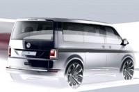Para abril, nuevo Volkswagen Transporter T6