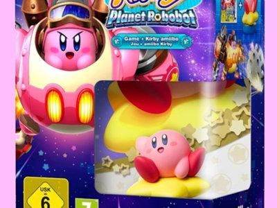 Kirby: Planet Robobot llegará a Europa con un muy tentador bundle con Amiibo incluido