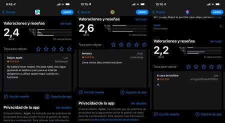 Aplicaciones Apple App Store