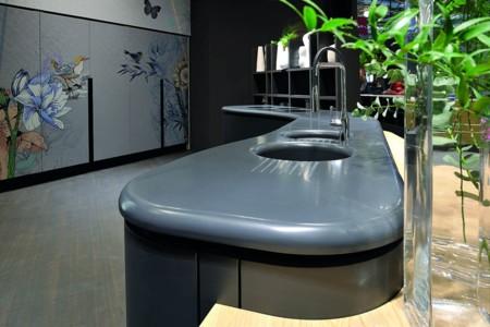 La impresionante cocina de Aran Cucine con HI-MACS® que triunfó en Milan Design Week