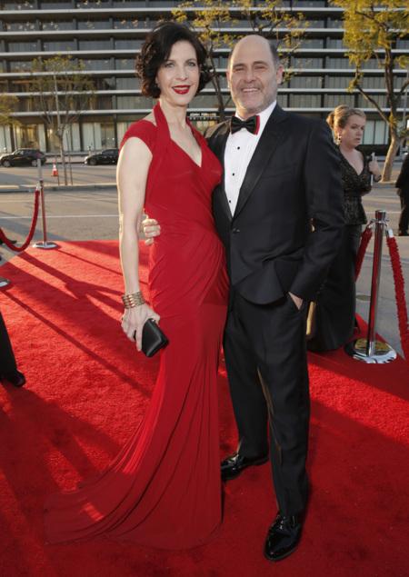 Linda Brettler y Matthew Weiner