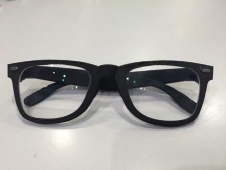 Las gafas ya terminadas