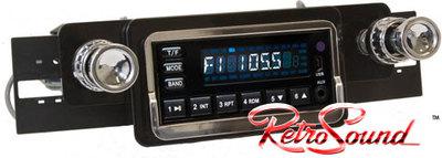 RetroSound Model One, la radio actual para los coches clásicos