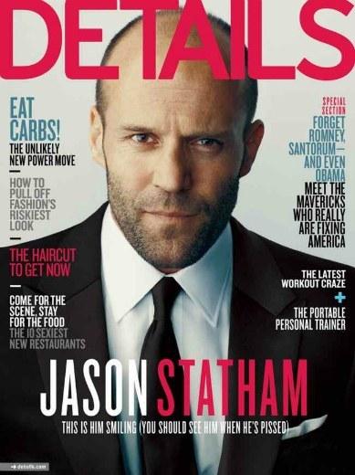 Jason Statham, porque se puede ser duro y tener percha