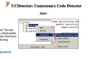 Guerra al código innecesario con UCDetector