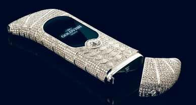 Móvil Le Million de Goldvish, el más exclusivo del mundo