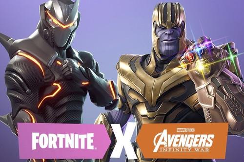 Ya he sido Thanos en Fortnite Battle Royale, y se suma a la larga lista de grandes ideas del juego