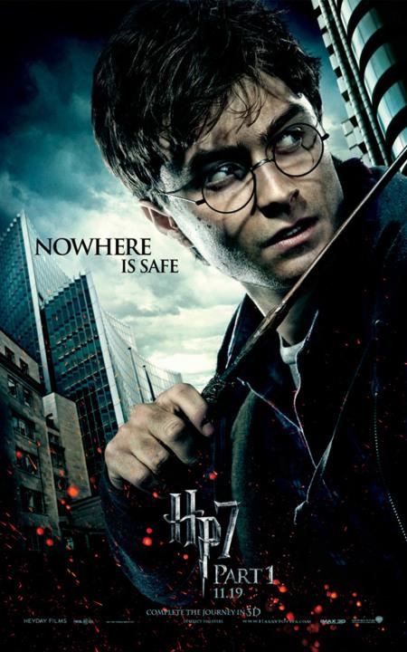 'Harry Potter y Las Reliquias de la Muerte: Parte I', nuevos carteles