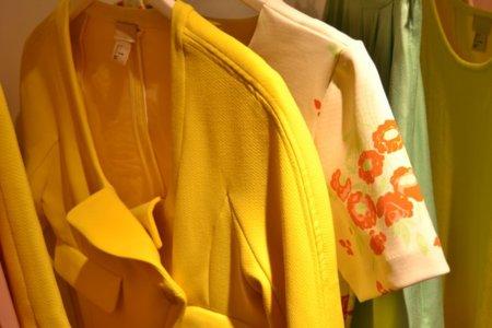 Amarillo H&M colección Primavera-Verano 2012