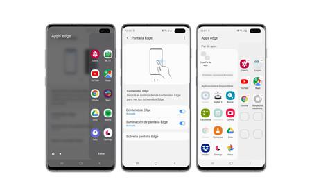 Samsung Galaxy S10plus Pantalla Edge