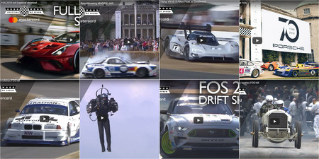 Lo mejor del Goodwood Festival of Speed 2018, en estos 19 espectaculares vídeos