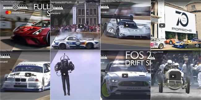 Los 19 mejores vídeos del Goodwood Festival of Speed 2018