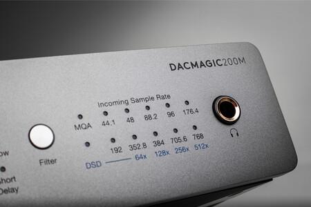 Cambridge Audio DacMagic 200M: conversor de audio digital a analógico compatible con audio de hasta 32 bits/768 kHz