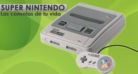 Super Nintendo, las consolas de tu vida