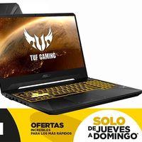 En las ofertas de Límite 48 Horas de El Corte Inglés, tienes el potente portátil ASUS TUF Gaming FX505DV-AL116 rebajado en 200 euros