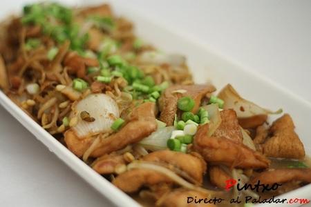 Chop Suey de pollo. Receta
