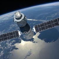 Una estación espacial china de 8600 kilos va a caer en la Tierra de forma totalmente descontrolada. Y no pasa nada