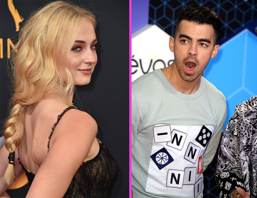 Sophie Turner y Joe Jonas se nos achuchan en una boda y Britney Spears ya gasta nuevo maromazo