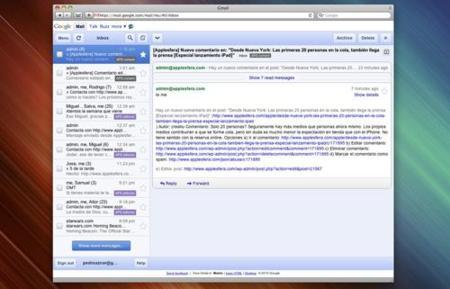 Navega ya por las webs especialmente diseñadas para el iPad, desde la versión de escritorio de Safari