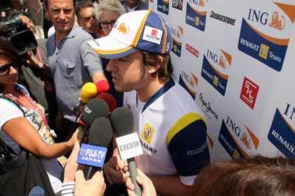 Alonso espera en Francia una mejora de ¡una décima!