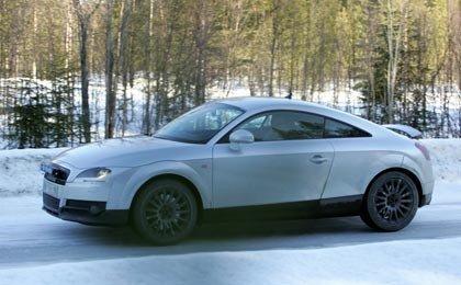 Nuevo Audi TT, fotos espías
