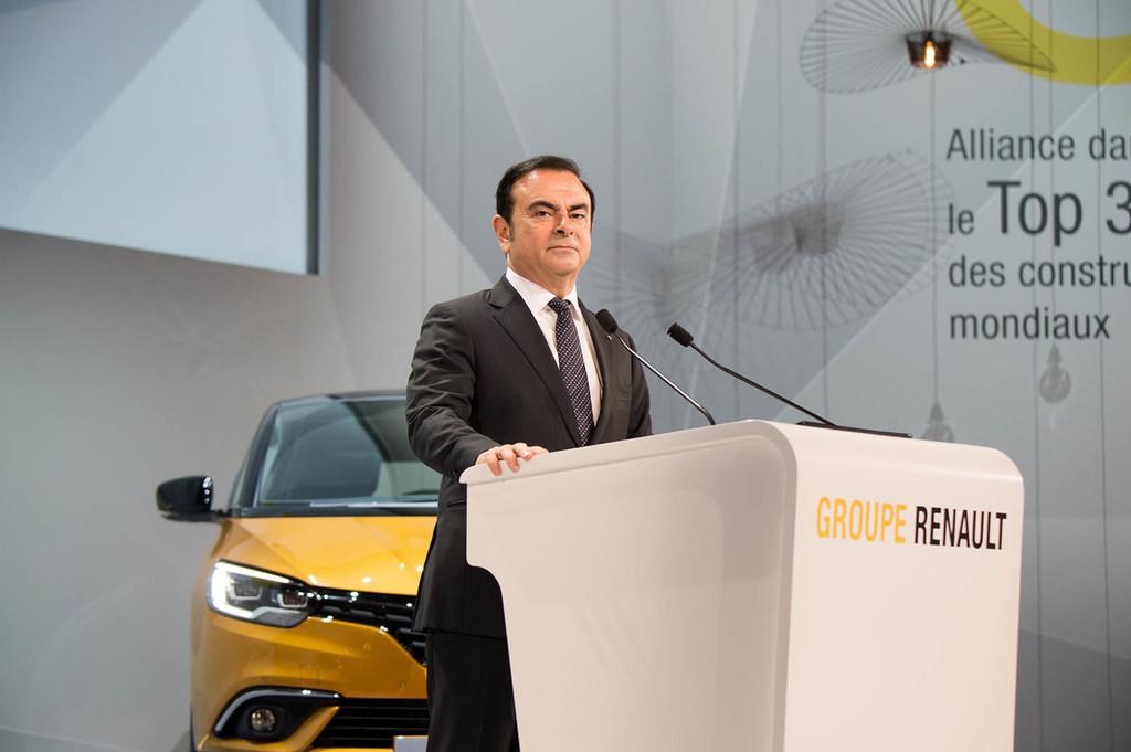 Renault mantiene la confianza en Carlos Ghosn: sigue siendo consejero, aunque ya no sea CEO ni presidente
