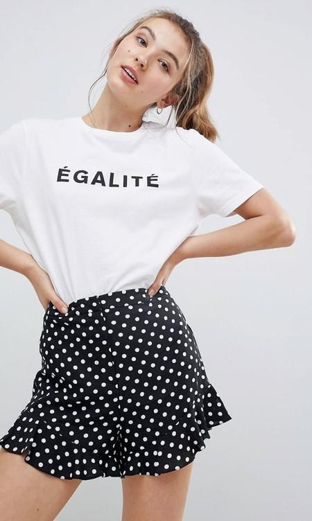 mejor servicio eb34a 420da ESPRIT 027ee1f055, Blusa para Mujer, Multicolor (Navy), 40