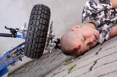 ¡No lo muevas! Cómo atender a un niño gravemente herido en un atentado, catástrofe o accidente