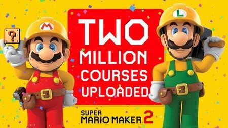 Ya se han creado más de dos millones de niveles en Super Mario Maker 2