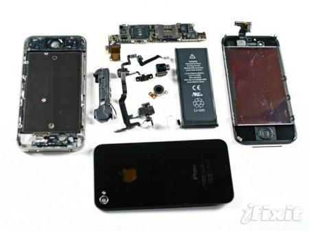 iFixit desmonta el iPhone 4S, el despiece tradicional y sus detalles más interesantes