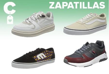 Chollos en tallas sueltas de zapatillas Pepe Jeans, Vans o Levi's en Amazon