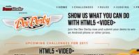 Demuestra lo que sabes hacer con la etiqueta video de HTML5 en el DevDerby