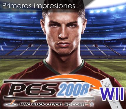 Primeras impresiones: 'Pro Evolution Soccer 2008' (Wii)