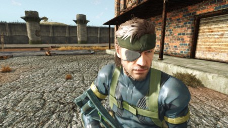 Fallout 4 Mod Metal Gear