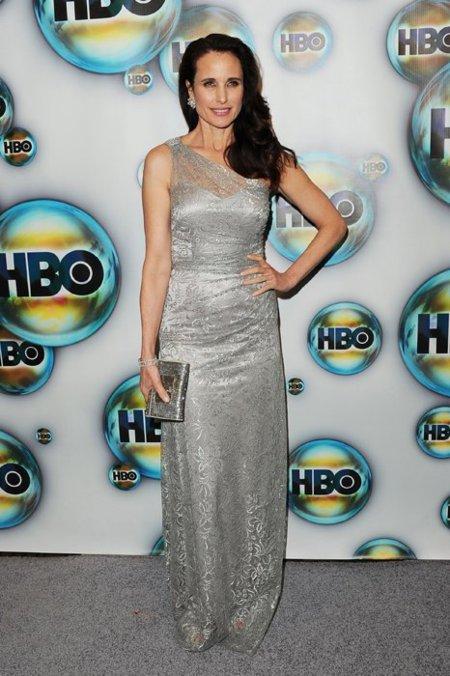 Andie MacDowell fiesta de HBO