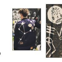 Valentino fotografía en las calles de Londres a conocidos músicos en un ejercicio de Street y de Op Art