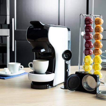 Cafetera multicápsula IKOHS por 39,95 euros y envío gratis en eBay