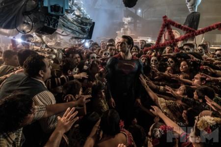 Imagen del rodaje de Batman V Superman